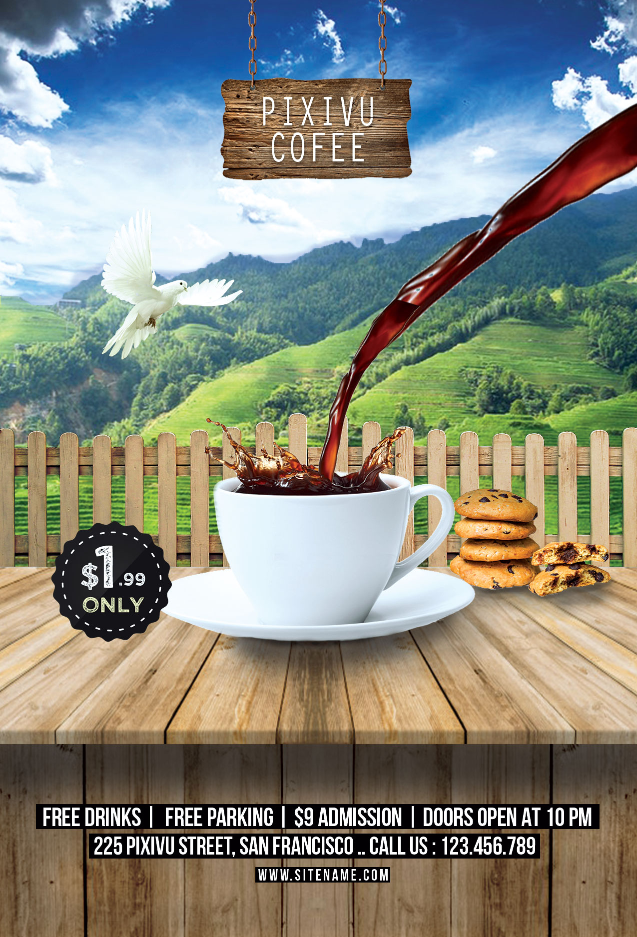 Coffee Poster Design
